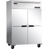 Cool-Linden 1220-4 Doors Stainless Steel Refrigerator