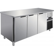 Cool-Linden 3 Doors Stainless Steel Service Counter