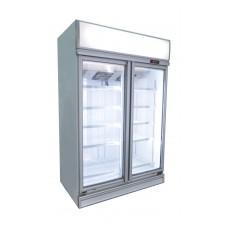 LINDEN - Commercial display 2 heater glass doors chiller